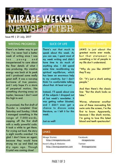 Mirage Weekly Newsletter [5]-1